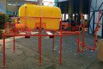 PRZENOŚNY OPRYSKIWACZ SPALINOWY MONTOWANY NA DREZYNĘ, napęd z silnika spalinowego 6,5 kM, pojemność zbiornika 800l, 22 l/min - Obraz6